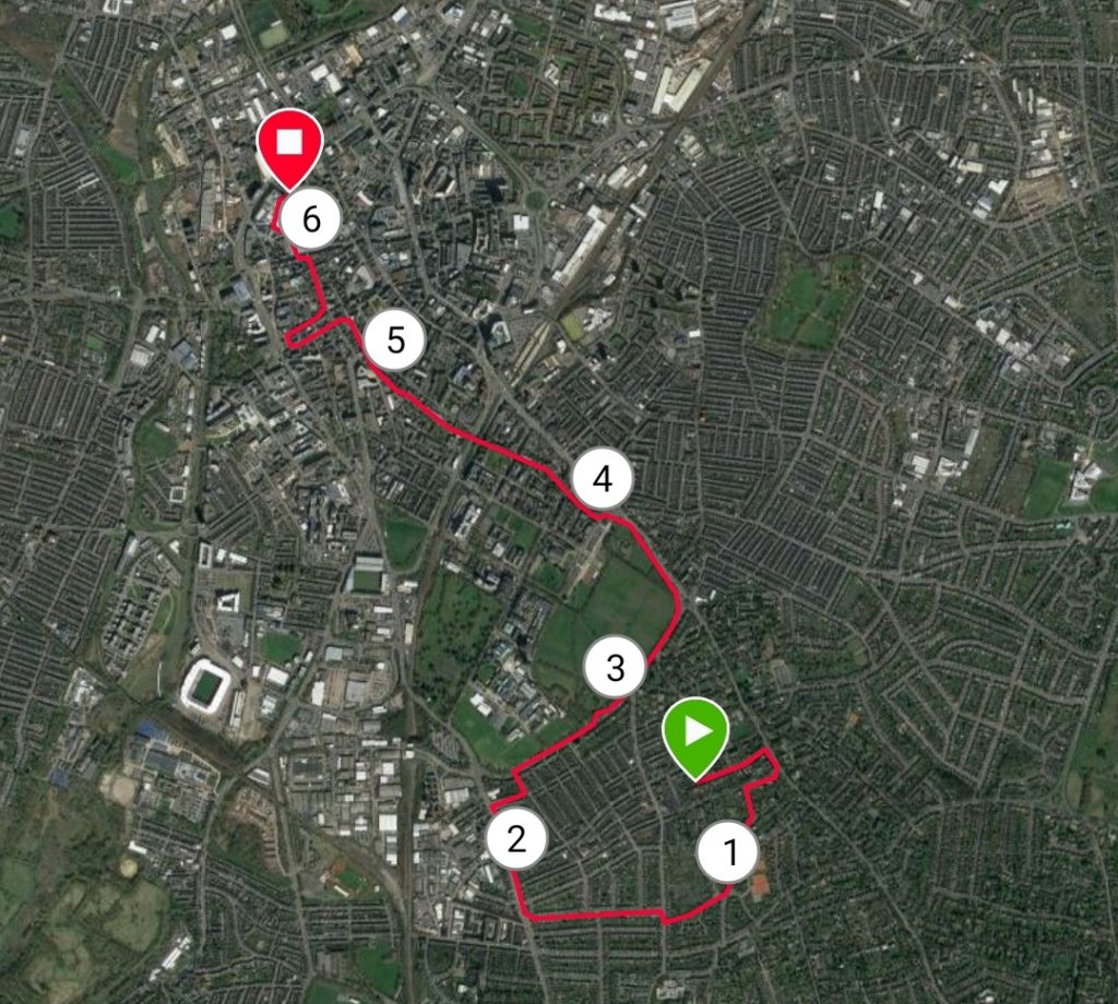 Run Route Leicester