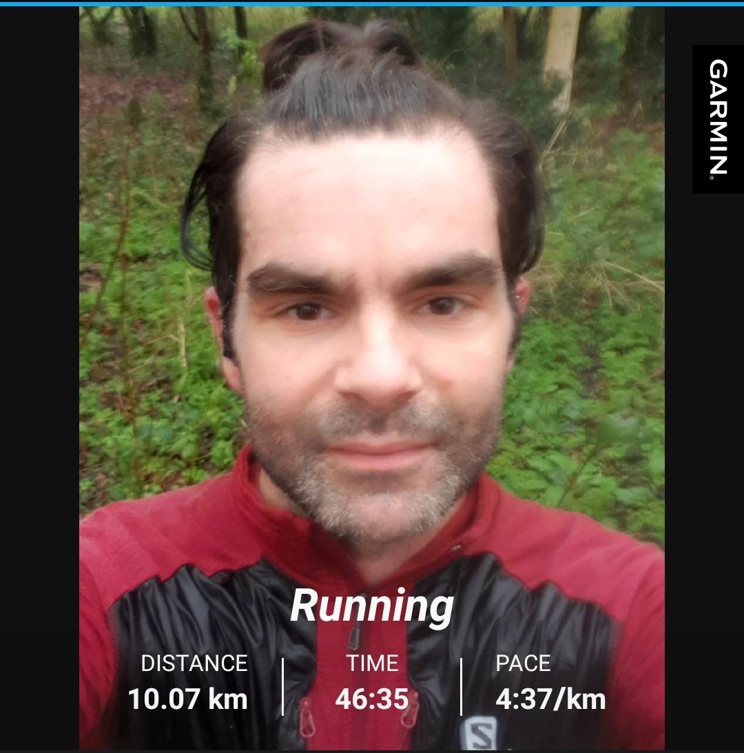 10K Run In The Rain