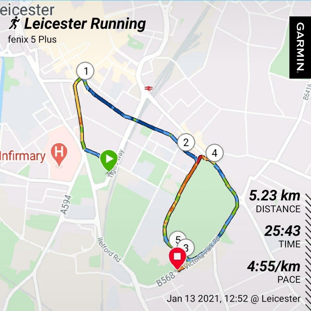 5k Run In Leicester