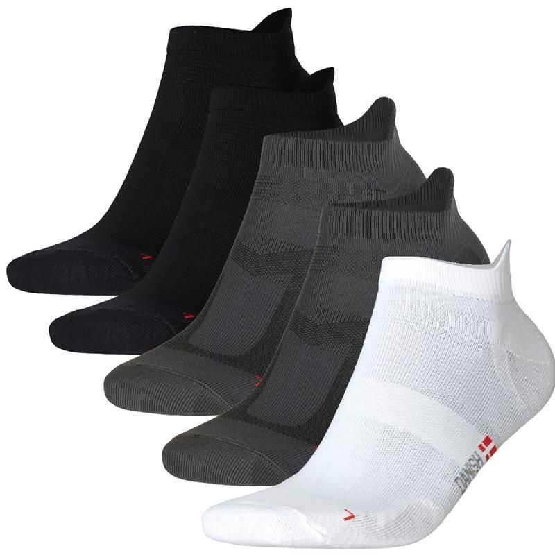 DANISH ENDURANCE Men's Low-Cut Pro Ankle Running Socks (Pack of 5)